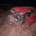 Homem morre em gravíssimo acidente, velocímetro trava em 220 km/h