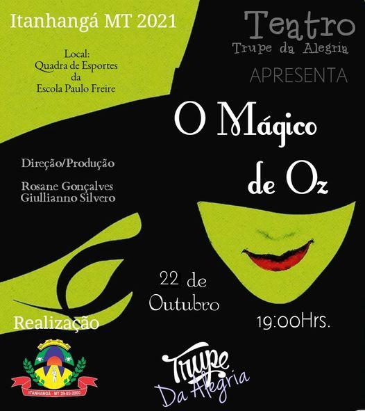 Itanhangá: Peça teatral vai ser apresentada, hoje, 22/10, na Escola Paulo Freire